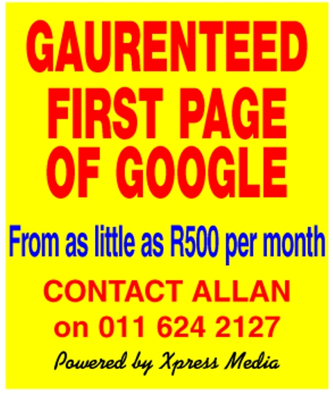 First Page of Google, Google marketing, Google Search