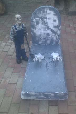 Halloween Decor & Props for Hire. Coffin for hire